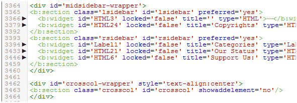 Syntax highlighting in blogger