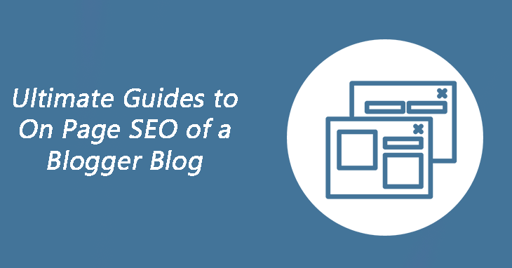 on page seo of blogspot site