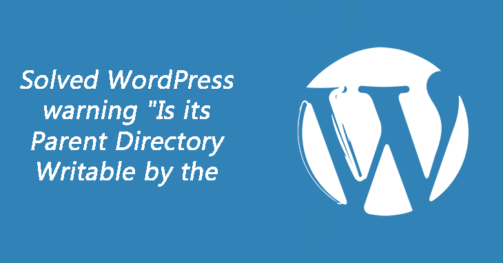 parent directory issue in wordpress
