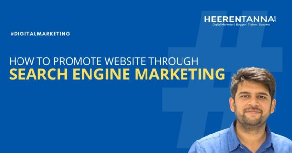 How to promote website through search engine marketing htanna blog