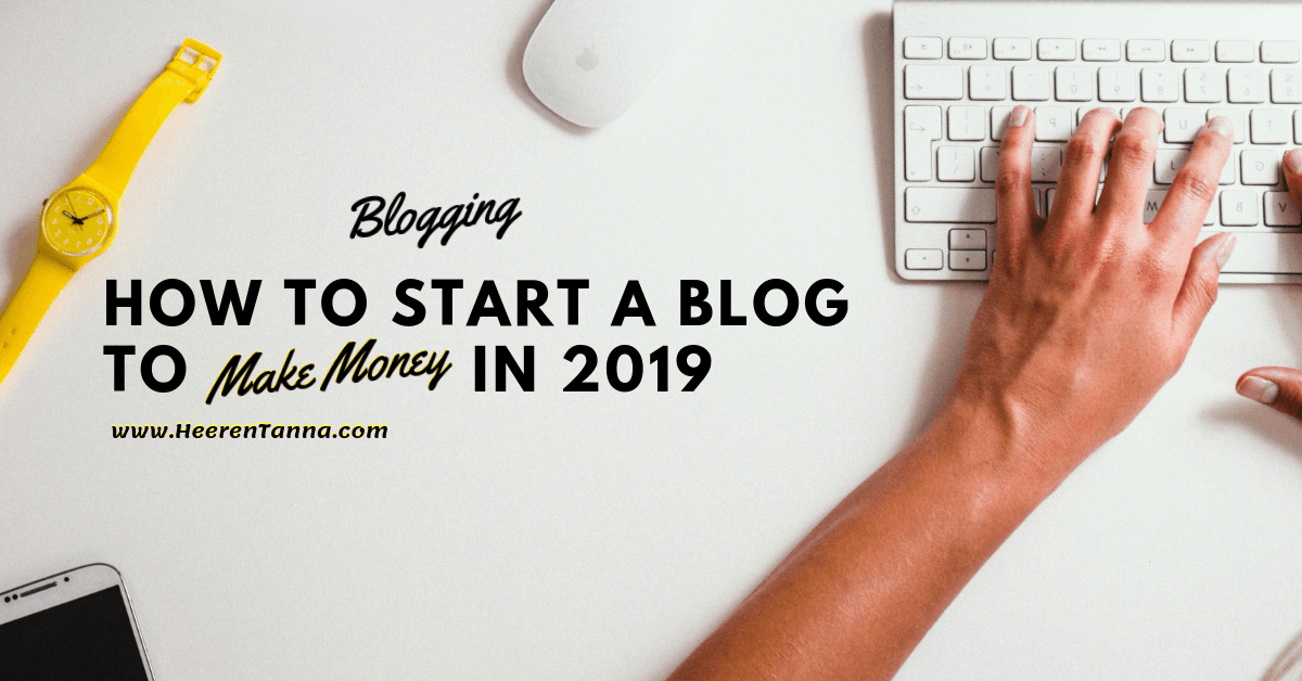 how to start a blog to make money online